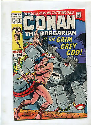 Conan The Barbarian #3 (7.5)  Low Distribution Original Owner Collection!