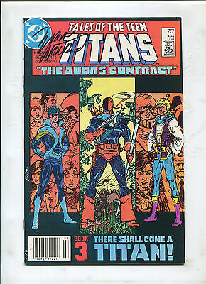 Tales Of The Teen Titans #44 (9.2) 1St Nightwing Signed By Marv Wolfman! Movie!