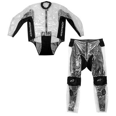 Alpinestars 2-Piece Rainsuit Clear/Black 3XL