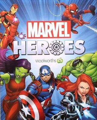 Woolworths Marvel 42 Disc Complete Set with Fold Out Case