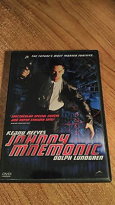 Johnny Mnemonic / DVD CULT SCI FI / Keanu Reeves, Dolph Lundgren, Takeshi, Ice-T