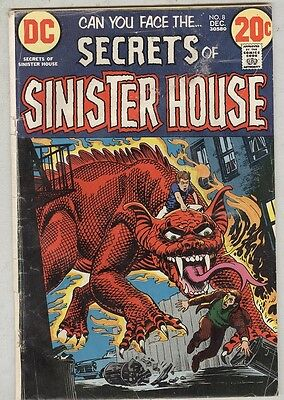 Secrets of Sinister House #8 December 1972 G