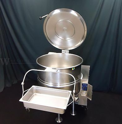 Beautiful Cleveland Gas 40 Gallon Steam Jacketed Stationary Kettle! Kgl-40 60