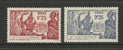 French New Caledonia ~ 1939 New York World's Fair Set (Min Mh)