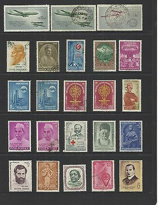 Republic Of India ~ 1961 - 1965 (Near Complete Issues - Mint & Used)