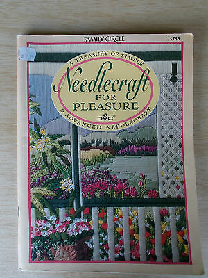 Family Circle~Needlecraft for Pleasure~Cross Stitch~Hardanger~Crochet~Canvaswork