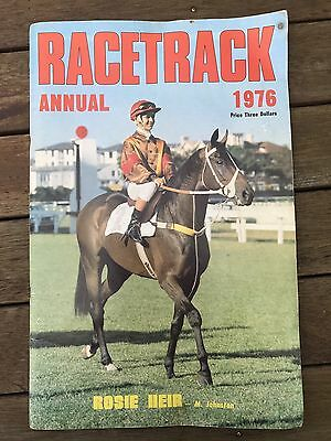"Racetrack Annual 1976 ""rosie Heir"" Cover, Mainly Photos, 20 Full Colour Pictures"