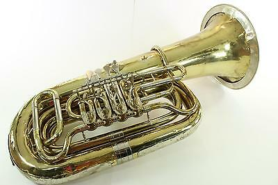 Miraphone Model 186-4V BBb Tuba PLAYER! WOW! QuinnTheEskimo