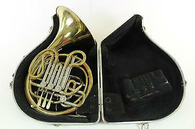 Holton H-378 Model Yellow Brass French Horn NICE QuinnTheEskimo