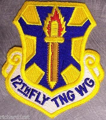Embroidered Military Patch USAF Air Force 12th Flying Training Wing NEW