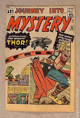 Thor (1962-1996 1st Series Journey Into Mystery) #83 PR 0.5