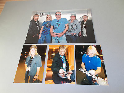 Deep Purple signed signiert autograph Autogramm 20x29 Foto in person