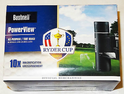 Bushnell Powerview Ryder Cup Binoculars Brand New