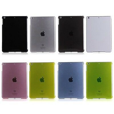Back Cover Transparent for Apple iPad Air Case Accessories+Protective Film Top