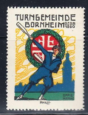 GERMAN POSTER STAMP : Turngemeinde