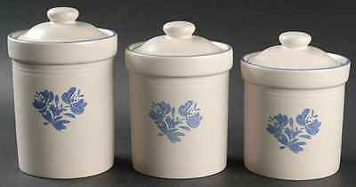 Pfaltzgraff YORKTOWNE (MADE IN CHINA) Sealed Canister Set 6575821