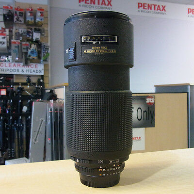 Used Nikon ED 80-200mm f2.8D Push/Pull lens - 1 YEAR GTEE