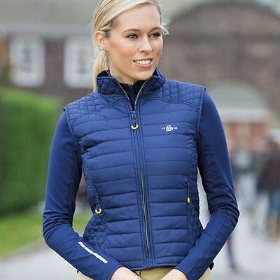 Shires Munich Quilted Waistcoat - Ladies, Navy