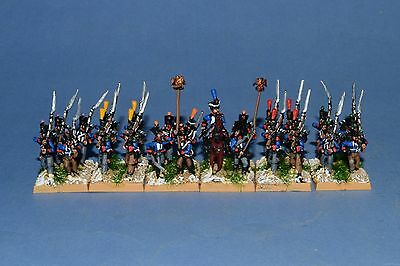 15mm Napoleonic painted War 1807-1814 French Fusilier Battalion B64