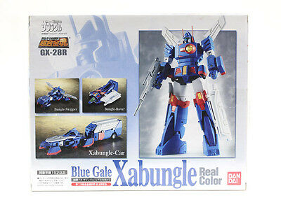 Xabungle Real Color Blue Gale Gx-28R Soul Of Chogokin Bandai Nuovo *[A Roma]*
