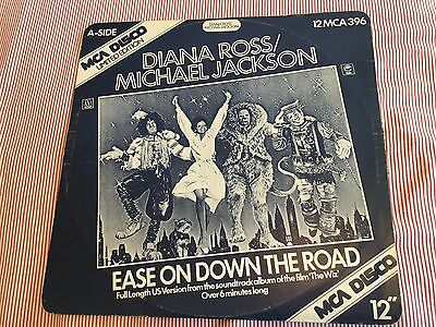 "Diana Ross/michael Jackson-Ease On Down The Road (Film-'the Wiz') - 12"" Vinyl"