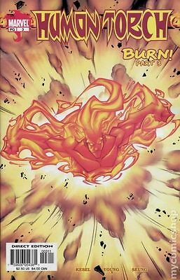 Human Torch (2003 2nd Series) #3 FN