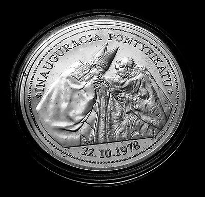 POLAND  Pope John Paul II Silver Proof Coin 2005
