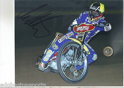 Leigh Adams Poole Original Professional 10 x 8 Photo HAND SIGNED