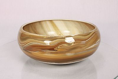 Beautiful Isle Of Lewis Very Fine Slip Ware Pottery Bowl Fear An Eich Stunning
