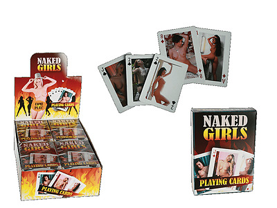 Hot Girls Playing Cards - Full Deck Stag Party Funny Novelty