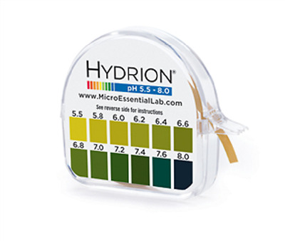 Hydrion 067 ph paper for Testing Urine and saliva