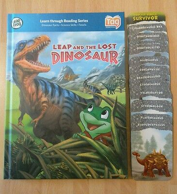 Leapfrog LeapReader & Tag Reading Pen - Leap and The Lost Dinosaur Book & Cards