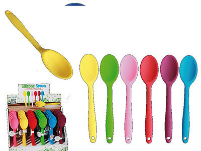 Silicone Spoon - Utensil Mixer Baking Heat Resistant