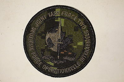 Canadian Special Forces JTF2 Camouflage CADPAT Patch Insignia