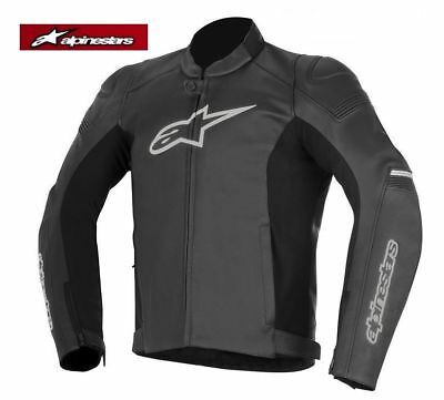 Alpinestars GP Plus R Black Leather Motorcycle/Motorbike Jacket was £390