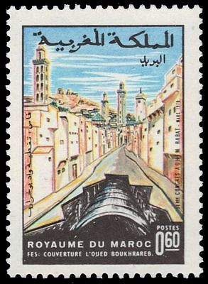 "MOROCCO 229 (Mi666) - Municipal Engineers Congress ""Fez Sewer"" (pa80195)"