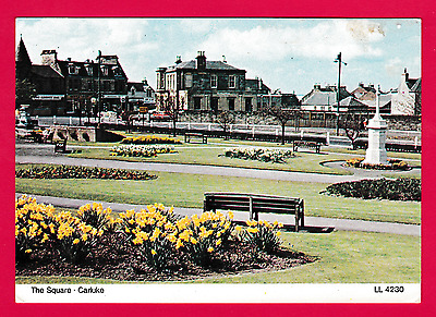 1970s card.The Square, Carluke, Lanark, Scotland
