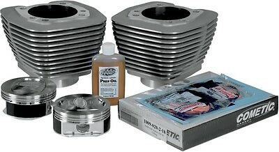 "Revolution Performance Monster Big Bore Kit 100"" Silver (201-209W)"