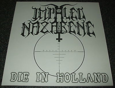 "Impaled Nazarene-Die In Holland-2013 Vinyl 7""-One-Sided/silk Screened-New"