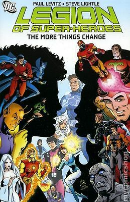 Legion of Super-Heroes The More Things Change TPB (2008) #1-1ST NM