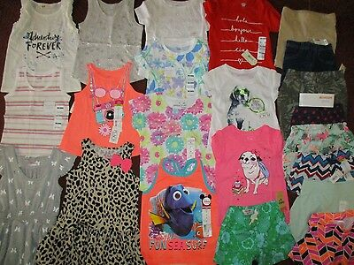 NWT'S Girls 3T Summer Lot Clothes & Outfits Old Navy TCP Carter's $280.