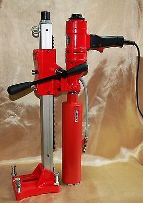 "4"" Z-1Ws Core Drill 2 Speed W/stand Concrete Coring By Bluerock ® Tools Z14"""