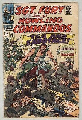 Sgt. Fury and his Howling Commandos #47 October 1967 G