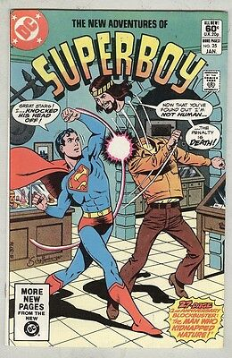 Superboy #25 January 1982 FN Dr. Chaos