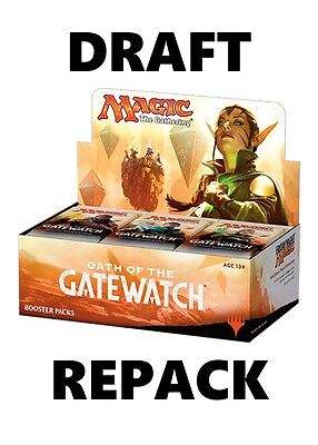MTG Oath of the Gatewatch Booster Box Repack | Draft | Magic the Gathering