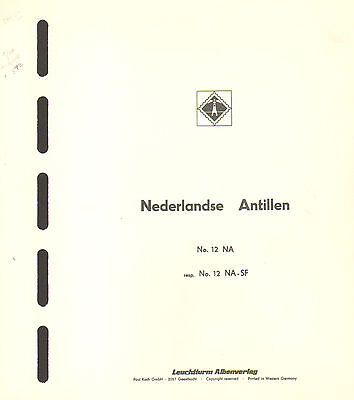 NETHERLAND ANTILLES Collection - Lighthouse Hingeless pages