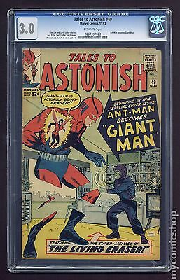 Tales to Astonish (1959-1968 1st Series) #49 CGC 3.0 0267397023