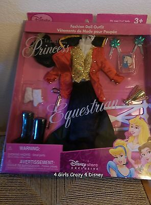Disney Princess  Barbie Equestrian Outfit NEW IN PACKAGE NEVER OPENED 90s MINT
