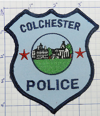 Connecticut, Colchester Police Dept Patch