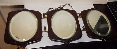 Old 19Th Century Wall Mirror